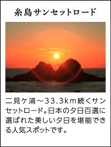 糸島サンセットロード